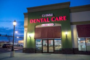 CU Smile Dental Care | Exterior Night