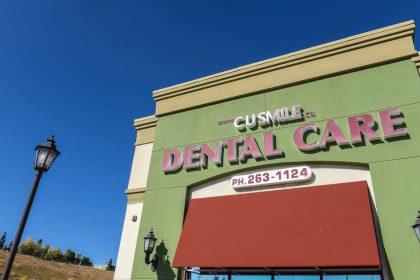 Buildign Exterior | CU Smile Dental Care | SW Calgary Dentist